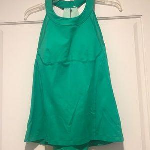 Lululemon top green size 10